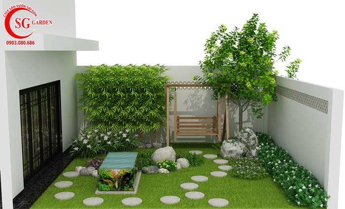 Quy Trình Thiết Kế Và Thi Công Sân Vườn